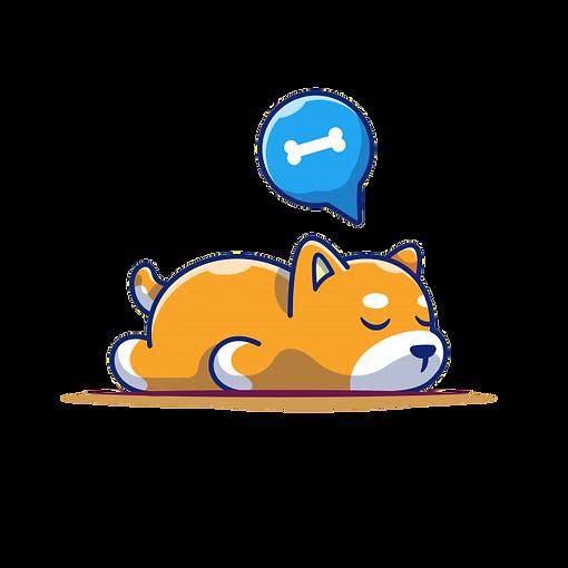 lazy-dog-sleeping-icon-sleeping-shiba-in