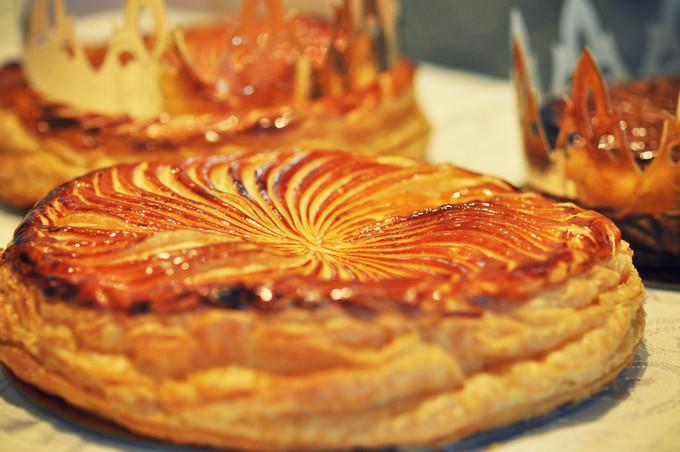 King's cake at Shangri-la Hong Kong