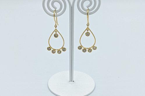 Dainty Diamond Earring
