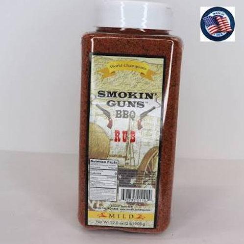 Smokin' Guns Mild Rub 2lb