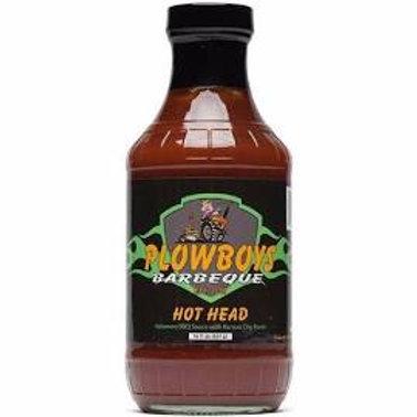 Plowboys Hot Head BBQ Sauce