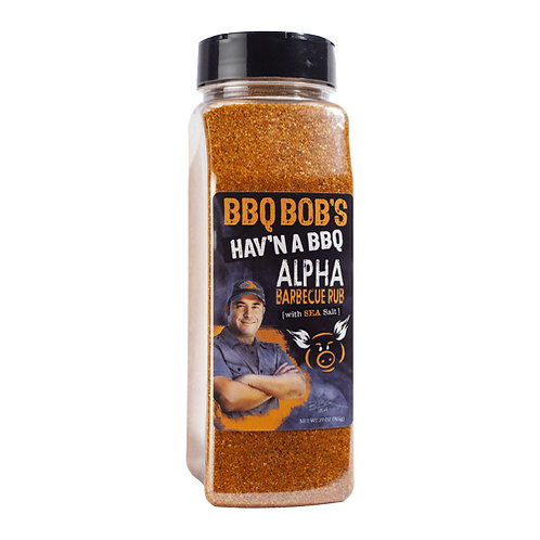 BBQ Bob's Alpha Rub
