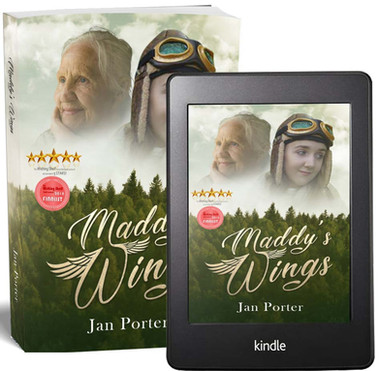 Maddy's Wings literary fiction books by