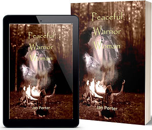 Peaceful Warrior Woman literary fiction