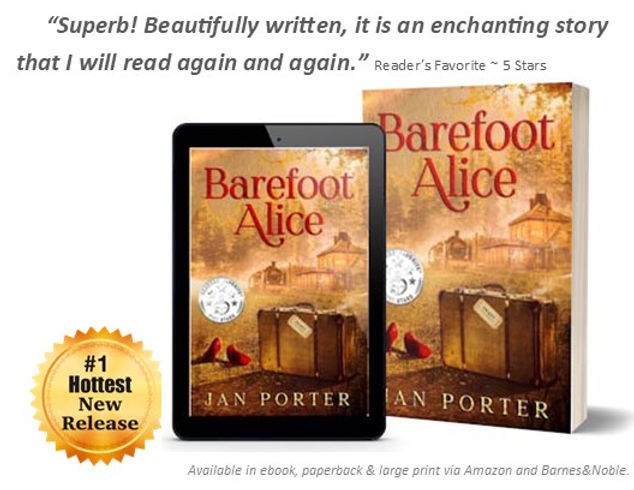 Barefoot Alice Ad #literaryfiction #cont