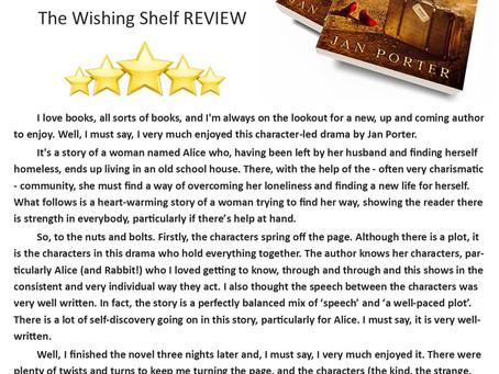 #Wishing Shelf 5 Star Review