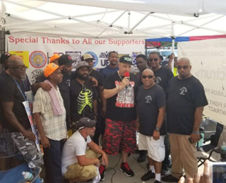Juneski Rivera with Strike Members