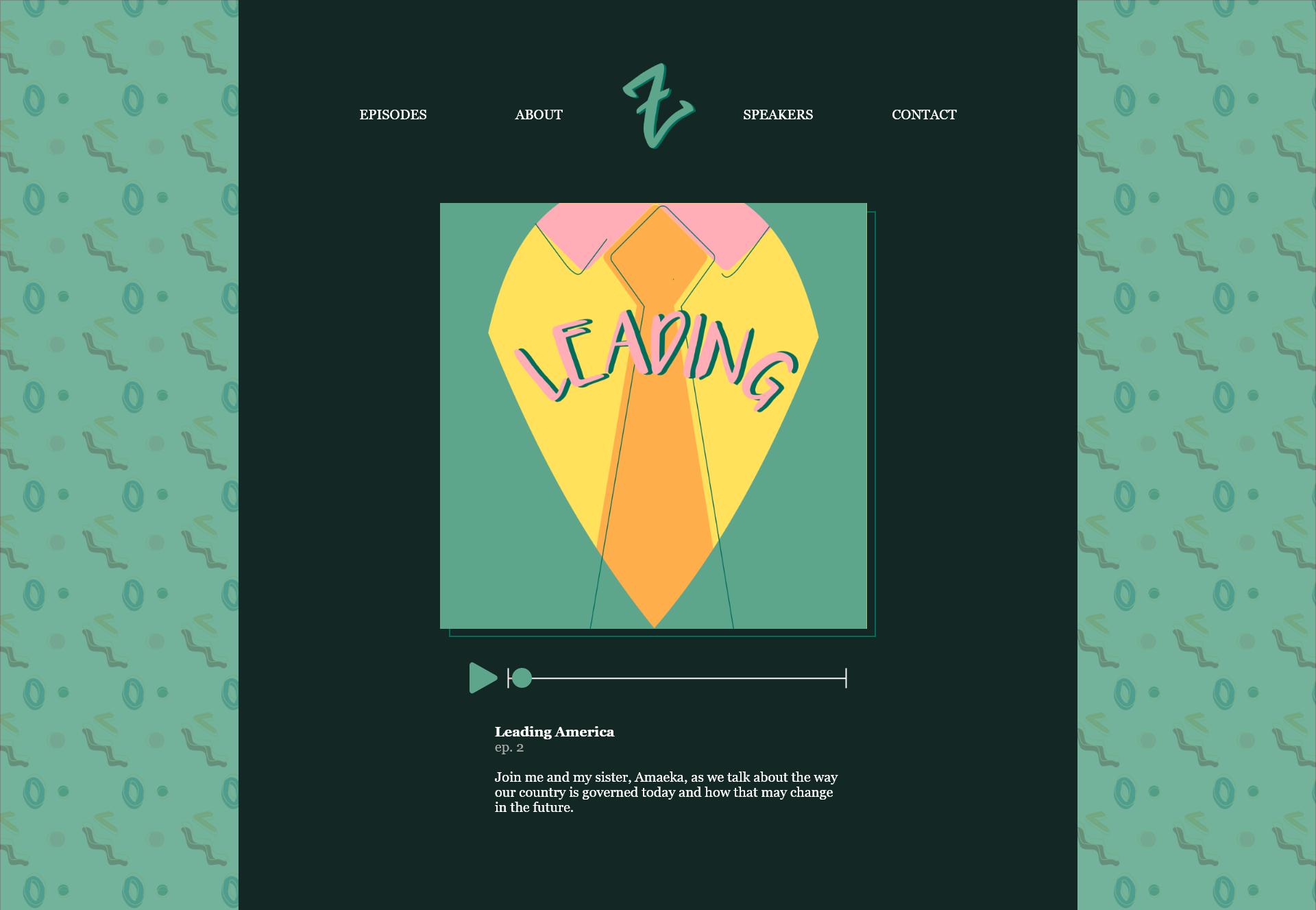 Landing Page - Episodes – 2
