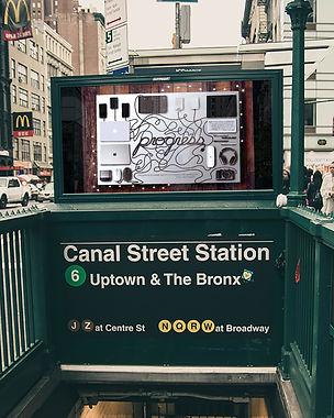 Progress Subway Poster