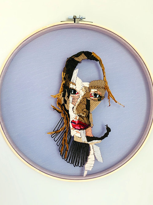 Portrait- Contemporary Embroidery