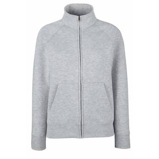 Sweat veste zippée molleton femme
