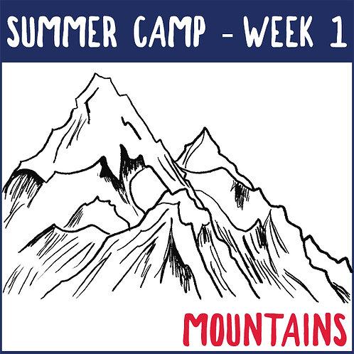 Summer Camp Week 1 (June 21-25)