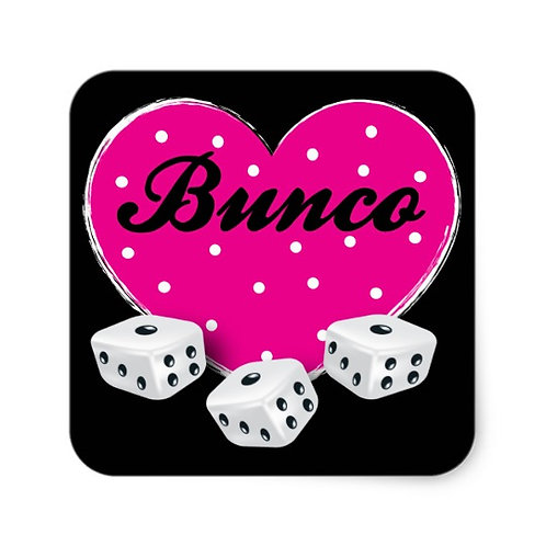 Ladies Bunco Party July 26
