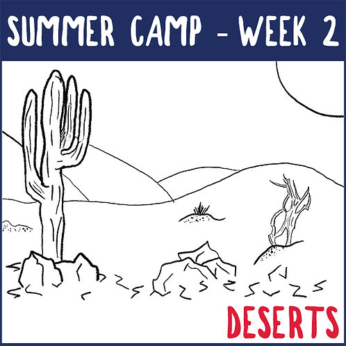 Summer Camp Week 2 (June 28 - July 2)