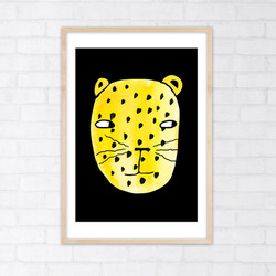 leopard ramme 1 kopi