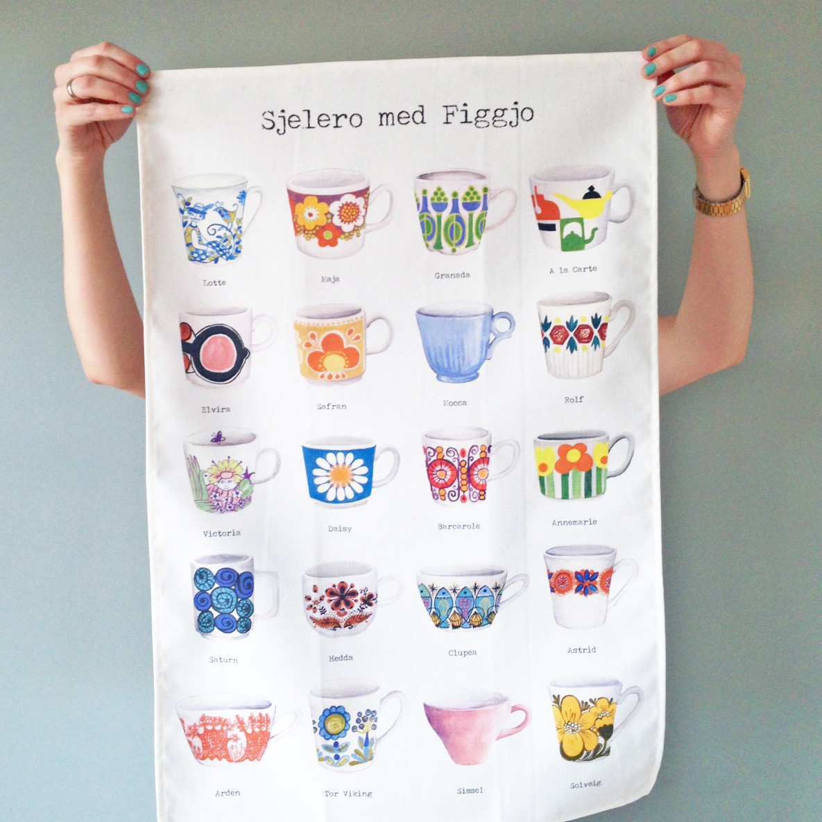 figgjo tea towel product