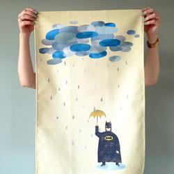 batman tea towel product
