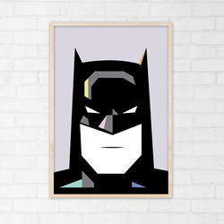 batman portr ramme