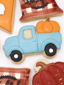 Fall Truck Cookies