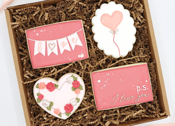"""""""I Love You"""" Gift Set of 4"""