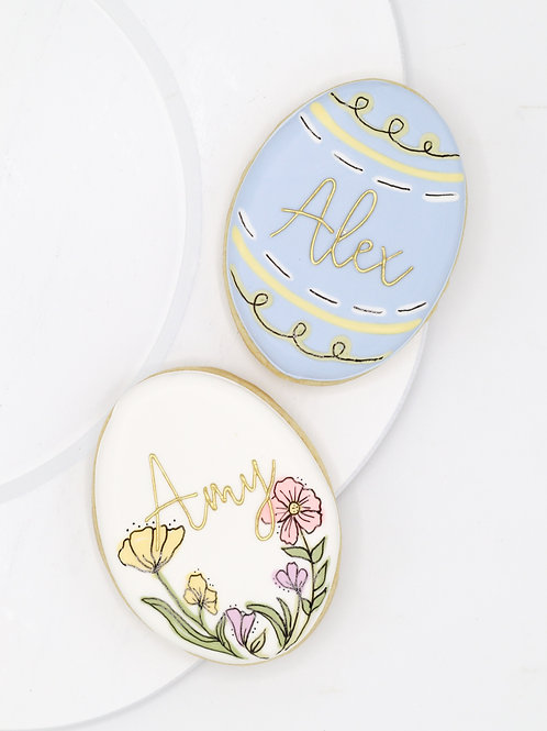 Personalized Egg Plaque