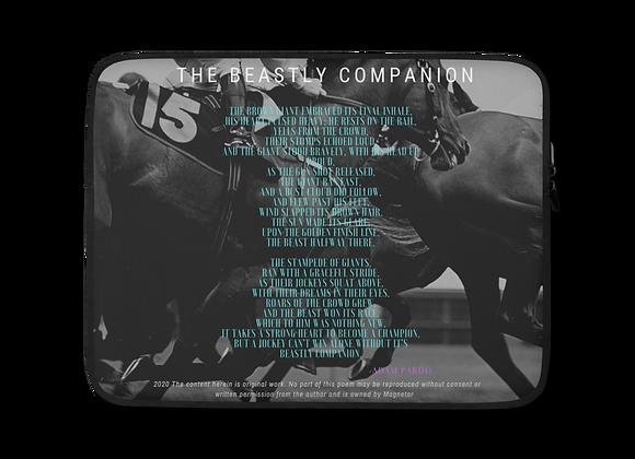 """Beastly Companion"" Laptop Sleeve"