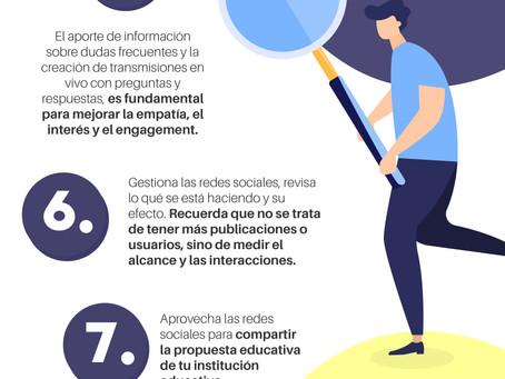 10/20 Consejos de un comunicador para instituciones educativas