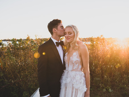 Sara and Charles Wedding - Newport Beach House