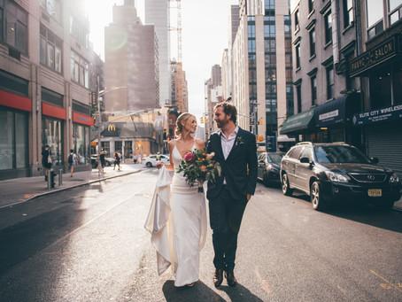 Lauren and James Wedding - NoMad Hotel