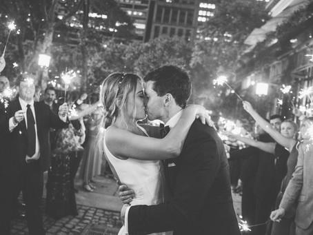 Kristen and Ben Wedding - Bryant Park Grill