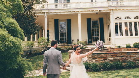 Devon and Jordan Wedding - Glen Foerd on the Delaware