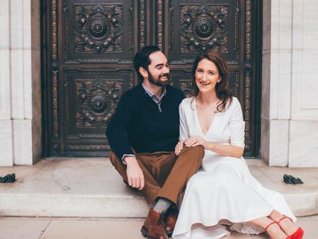 Jennifer and Peter Engagement - Manhattan