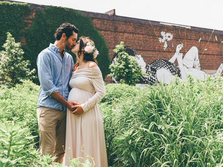 Rachel and Phil Maternity Session - Brooklyn, NY