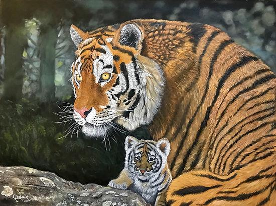 1. Tigresa, OST, 80x60cm, 2020. editado.