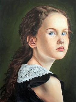 Menina Ruiva, OST, 80x60, 2021