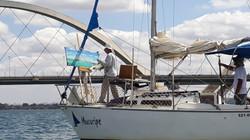Atelier flutuante no veleiro Mucuripe, arredores da Ponte JK- 7/9/2019
