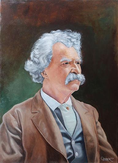 3. Retrato de Mark Twain-OST-70x50-2020