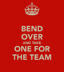 Taking One for the Team: Guest Blog