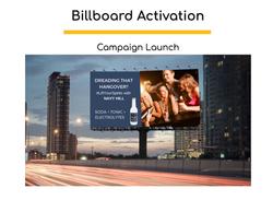 Billboard Campaign Launch