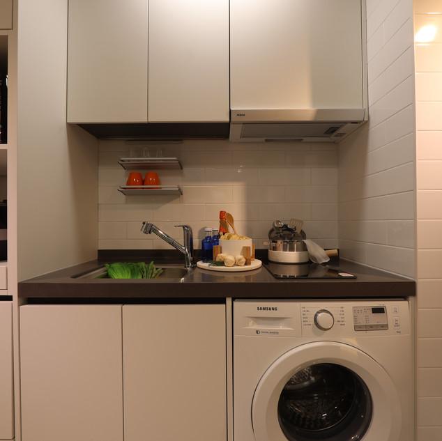 주방 및 드럼세탁기
