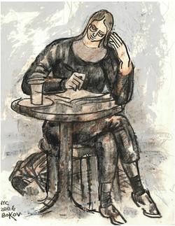 """Van Gogh 2006, 8"""" x 10"""""""