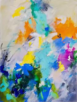 """Joy in Color 18"""" x 24"""""""