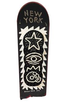 NYC Black & White Skateboard, 2010