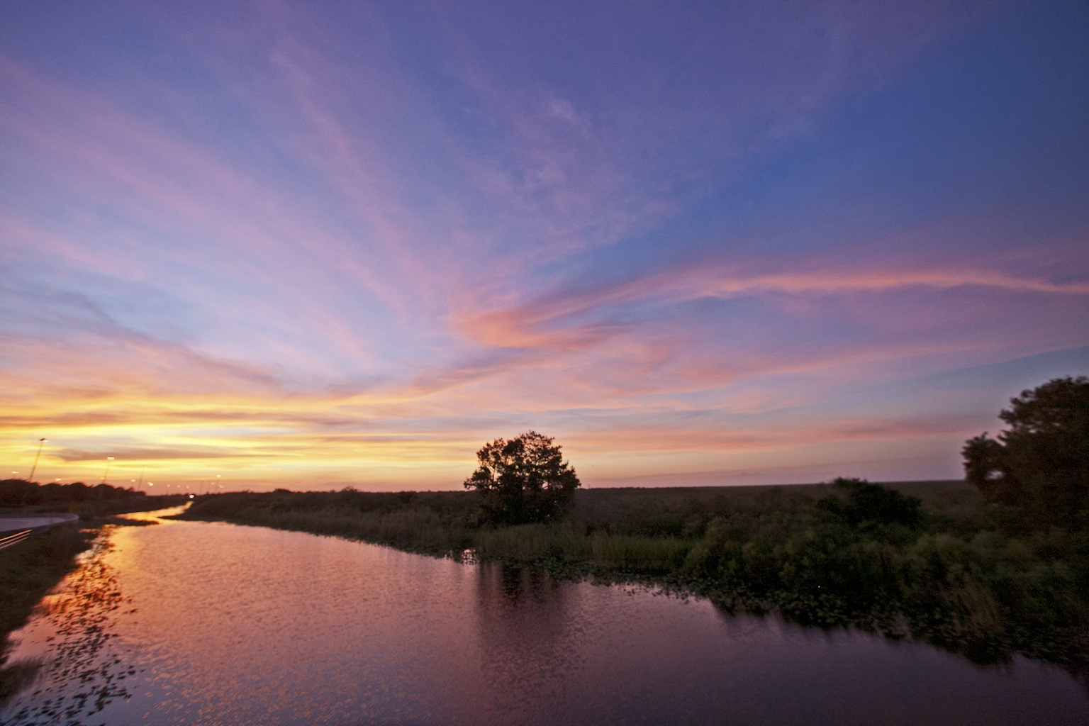 Natural Sunset - Everglades 2