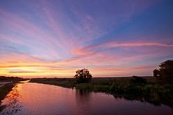 Natural Sunset - Everglades 2