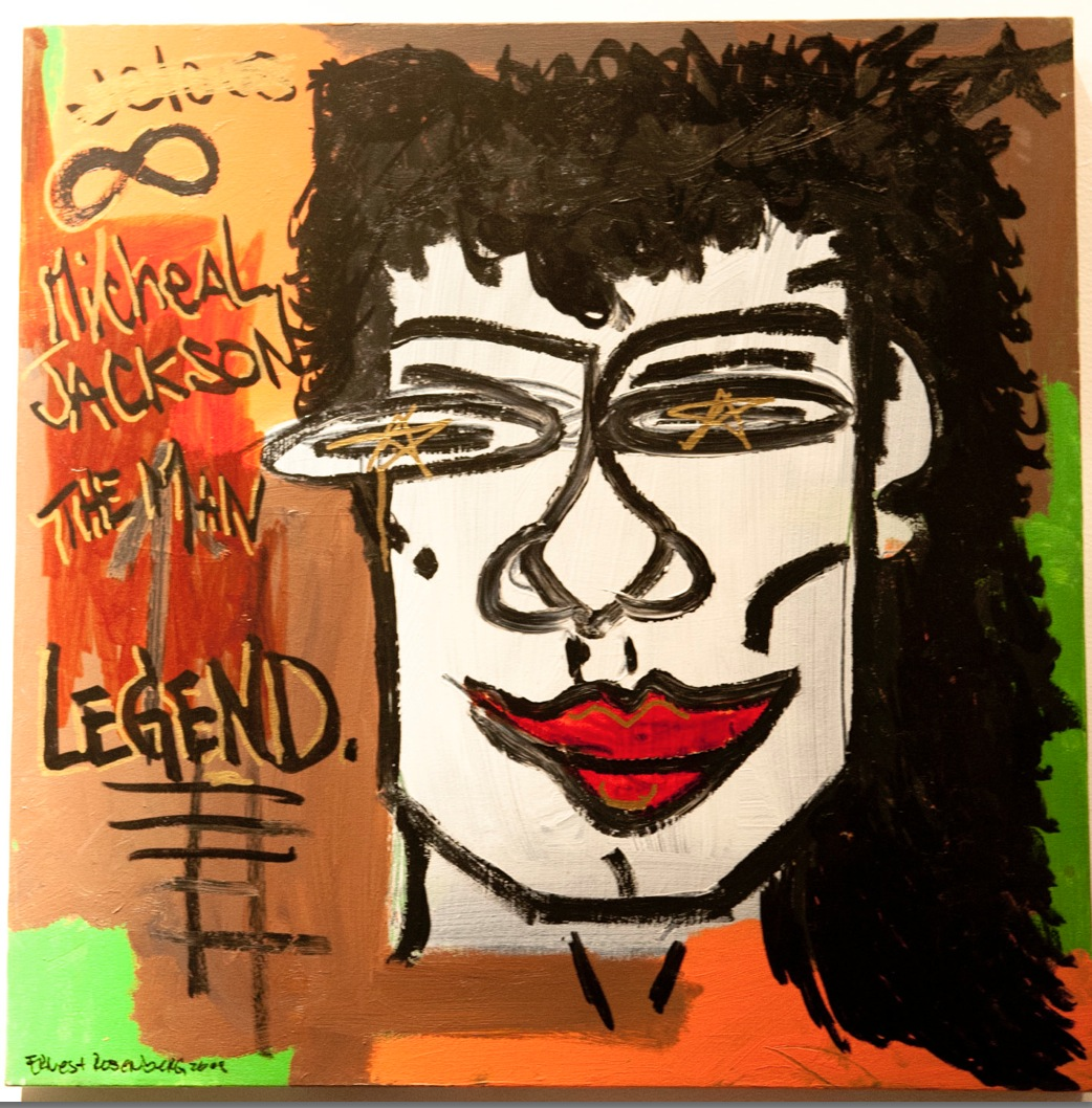 "Michael Jackson 24"" x 24"""