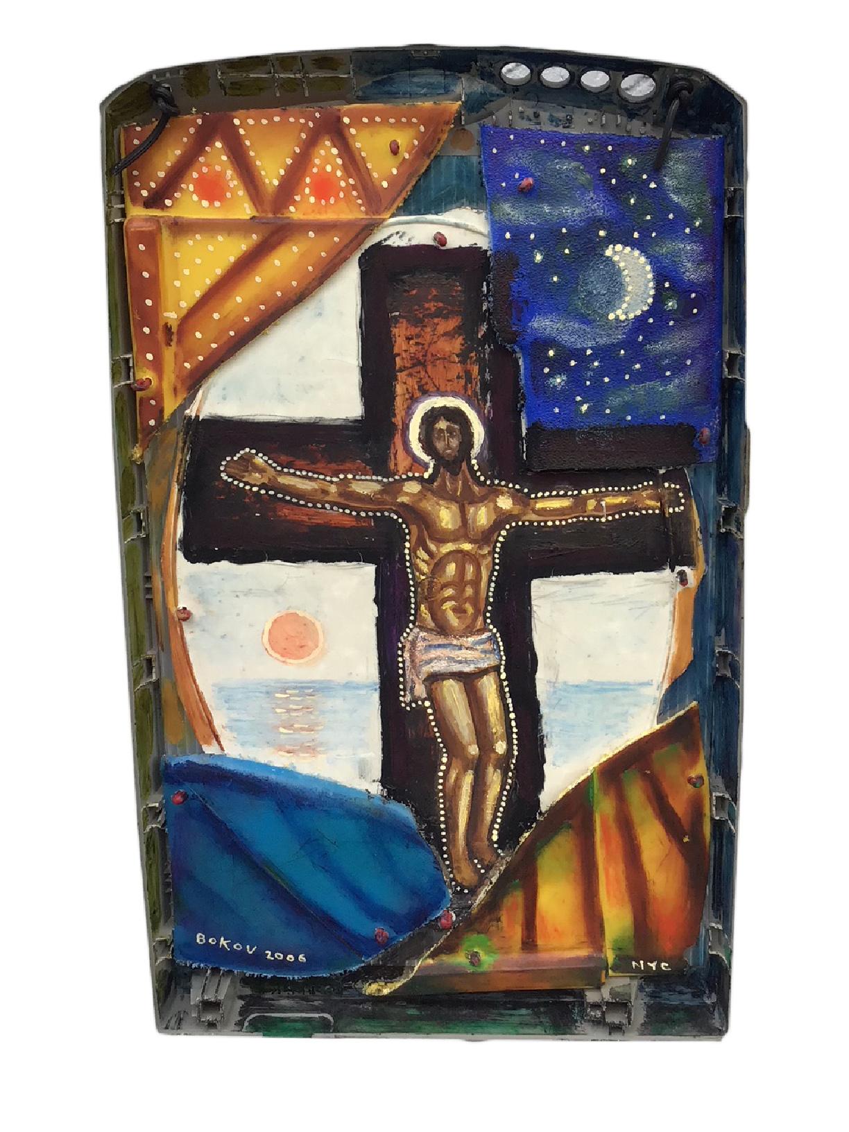 "Crucifixion,2006, 18""x11"""
