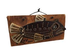 Fish on Plywood, 1990