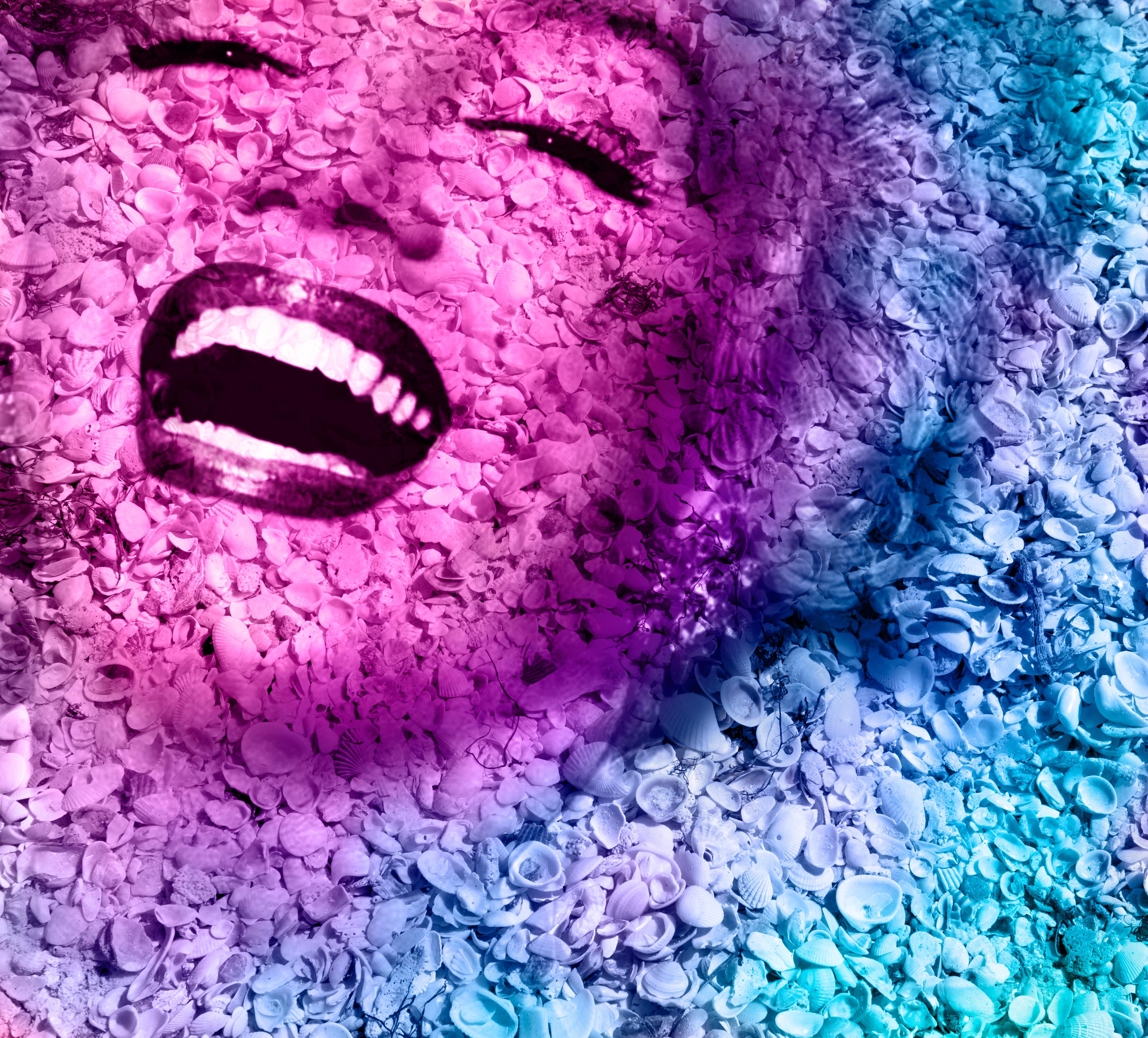 Rainbow Marilyn Monroe