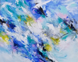 """The Great Sky 48"""" x 60"""""""